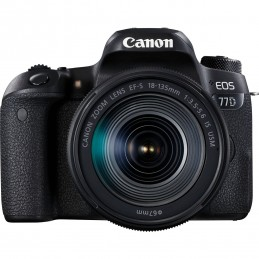 Canon EOS 77D + EF-S 18-55 mm IS STM fotocamera reflex
