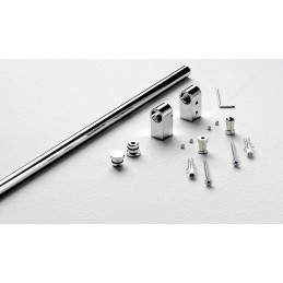 sottopensili  STONE Stone 8600 910/120 kit barra 1200mm 32 Complementi d'arredo: kit barra da 1200 mm. 2 supporti, 2 tappi chius